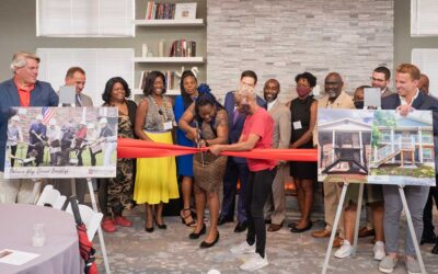 The Millennia Companies® Hosts Ribbon Cutting Ceremony at Valencia Way to Celebrate Rehabilitation of Affordable Apartment Developments
